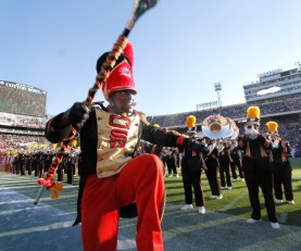 The Grambling State band performed during halftime of the State Fair of Texas Classic showcasing the football and band talents of Prairie View A&M and Grambling State. The State Fair Classic football game was played in the Cotton Bowl in Dallas on October 7, 2017. (Steve Hamm/Special Contributor)